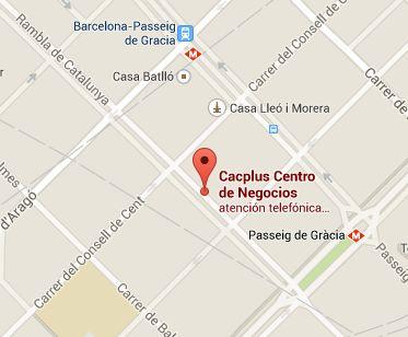 Ubicació de Cacplus