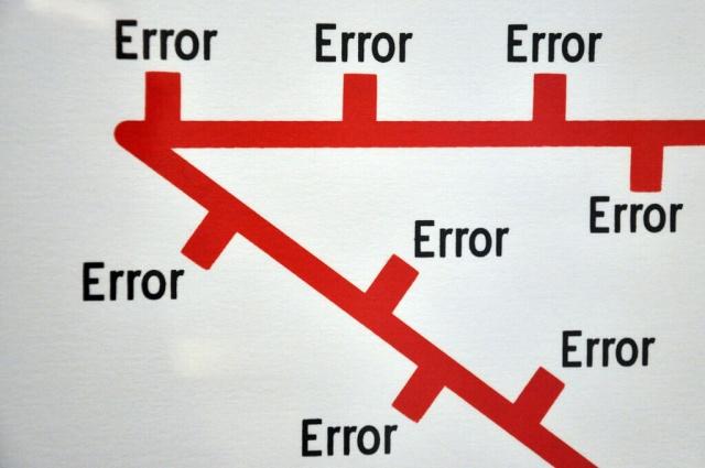Errores en los procesos de negociación